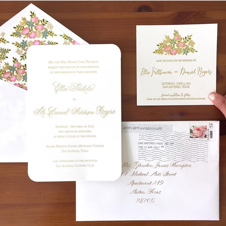 Fellbaum Save the Date & Wedding Suite