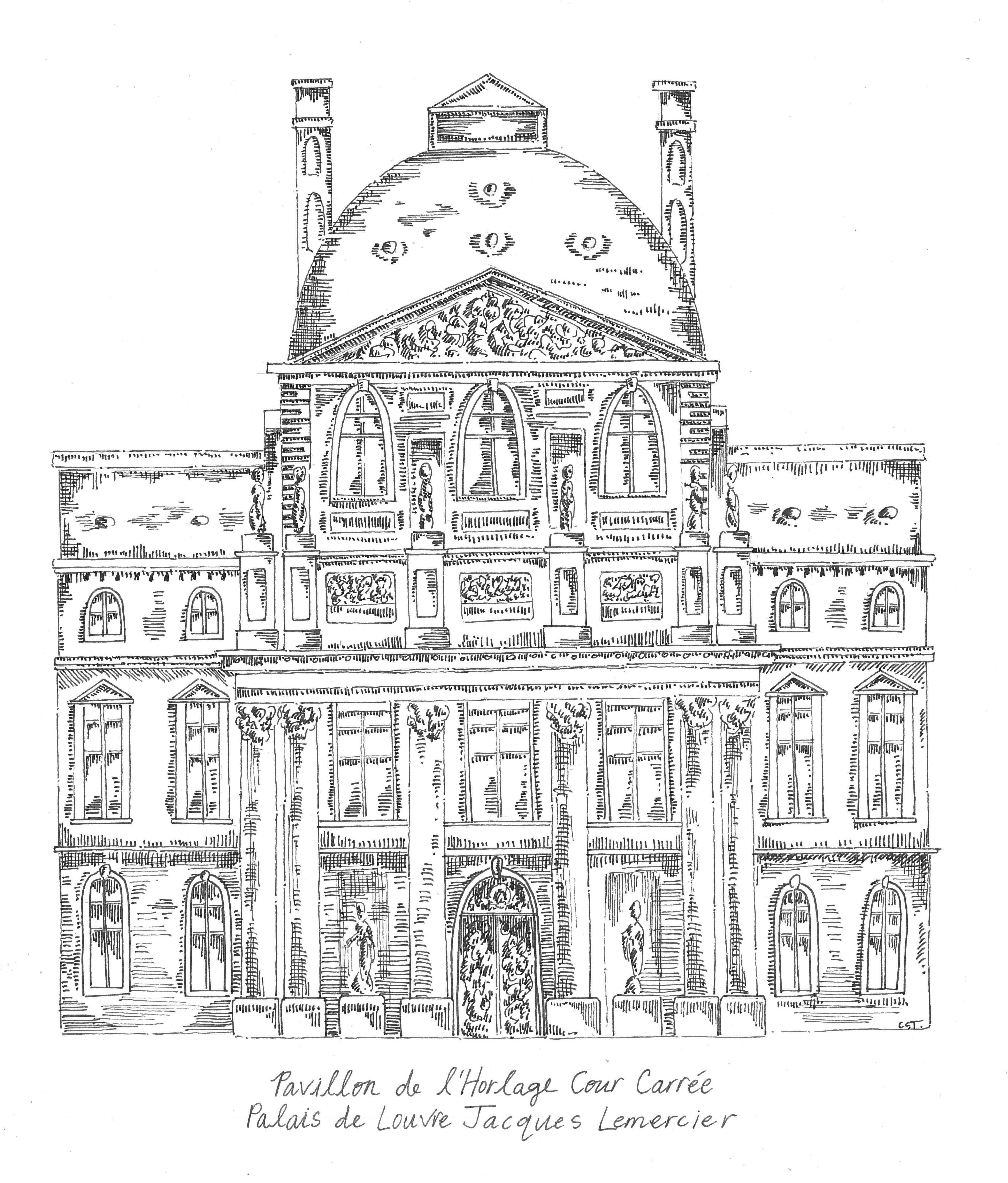 INK Pavillon de l'Horlange Cour Carree, Nicola Architecture Rendering