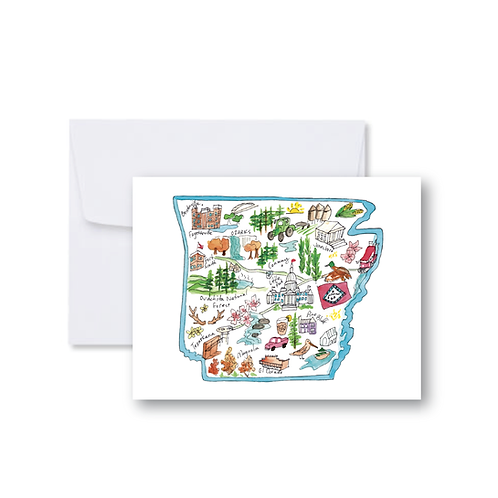 Arkansas Icons - Note Cards