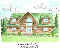 Lazy Dog Lodge Architecture JPEG