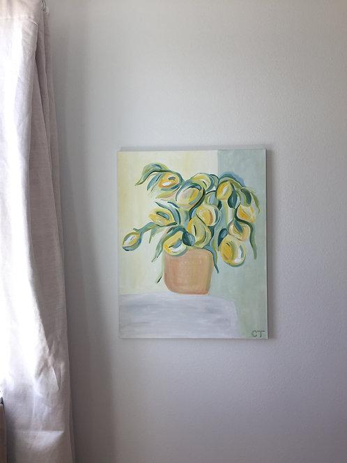 Yellow Tulips # 2
