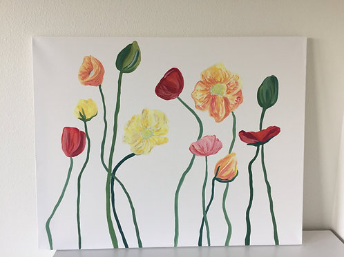 Poppies #5 - Bright Colors