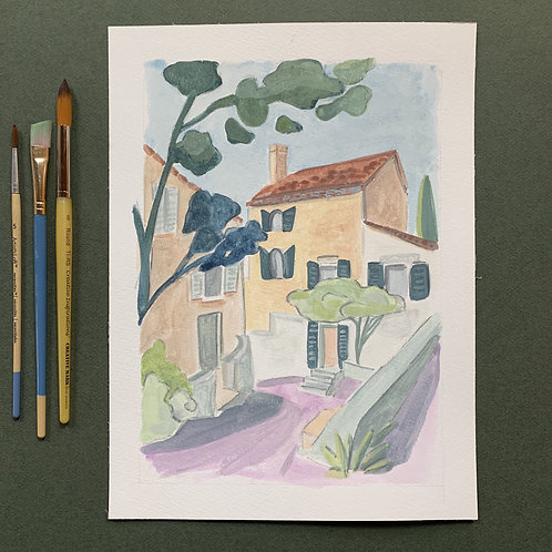 Provence Stroll - ORIGINAL