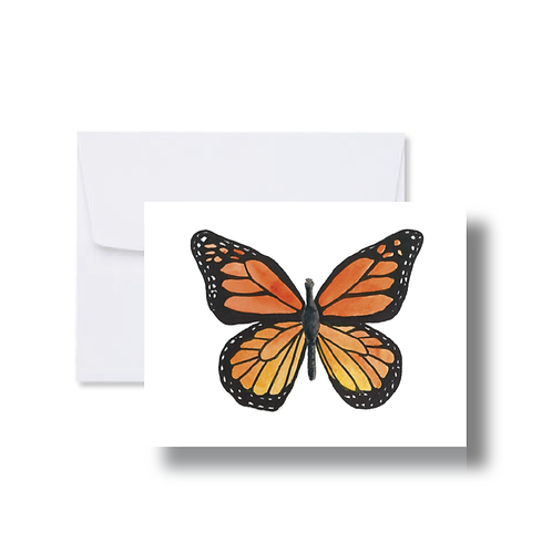 Monarch Butterfly - Note Cards