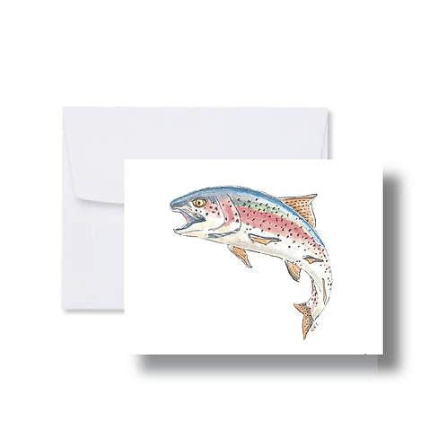 Rainbow Trout - Note Cards