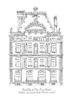 INK Pavillon de Flore Pont Royal, Nicola Architecture Rendering