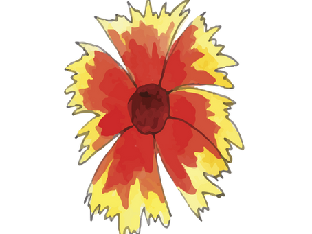 Watercolor Painting Tutorial: Texas Wildflowers
