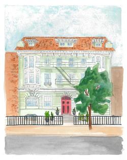 DC Row House-Mary Ann Webb Commission