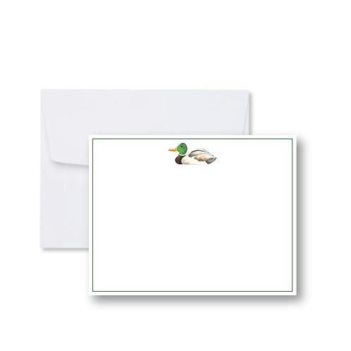 Mallard Duck FLAT Card Pack (8 Cards + Envelopes)