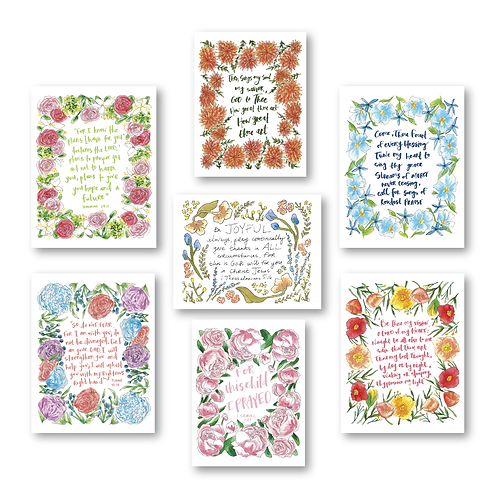 Scripture Prints Bundle