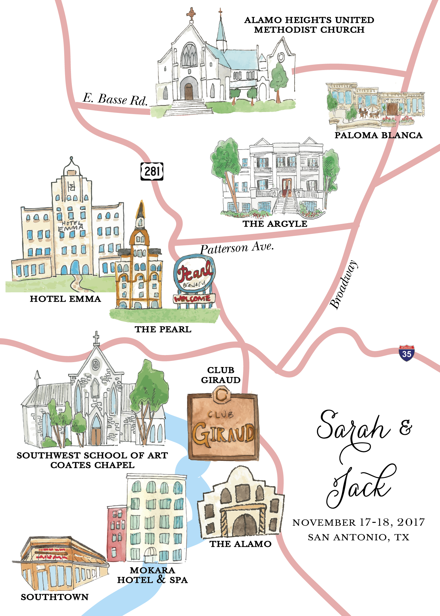 Sarah & Jack Wedding Map-01