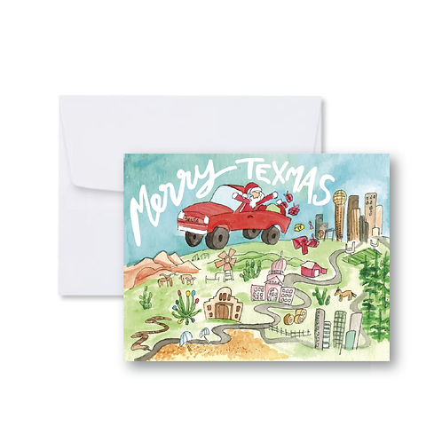 Merry Texmas Note Card