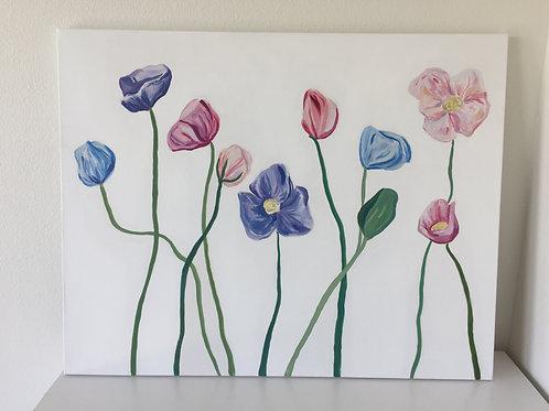 Poppies #4 - Pastel Colors