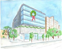 Aquilla Building Painting
