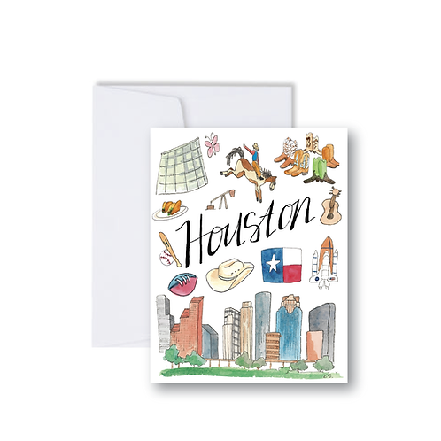 Houston Icons - Note Cards