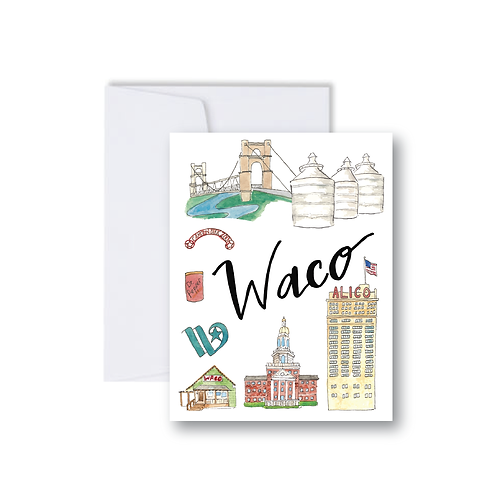 Waco Icons - Note Cards