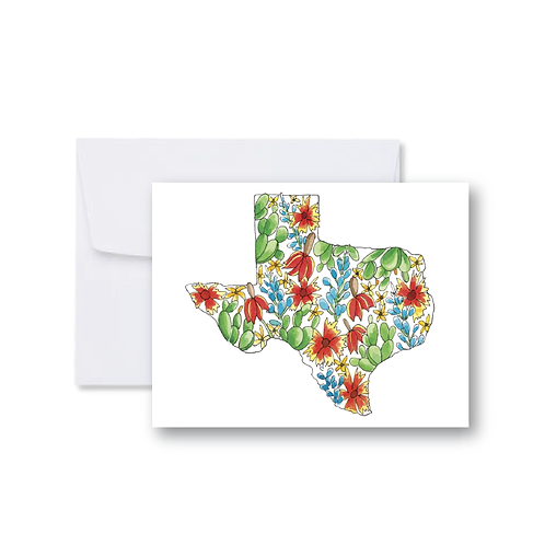 Wildflower Texas Note Card