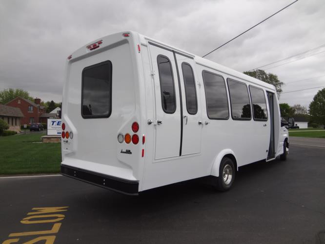 New Bus rear view