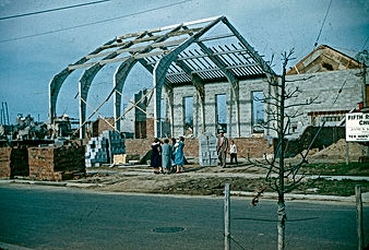 Fifth Church building being built