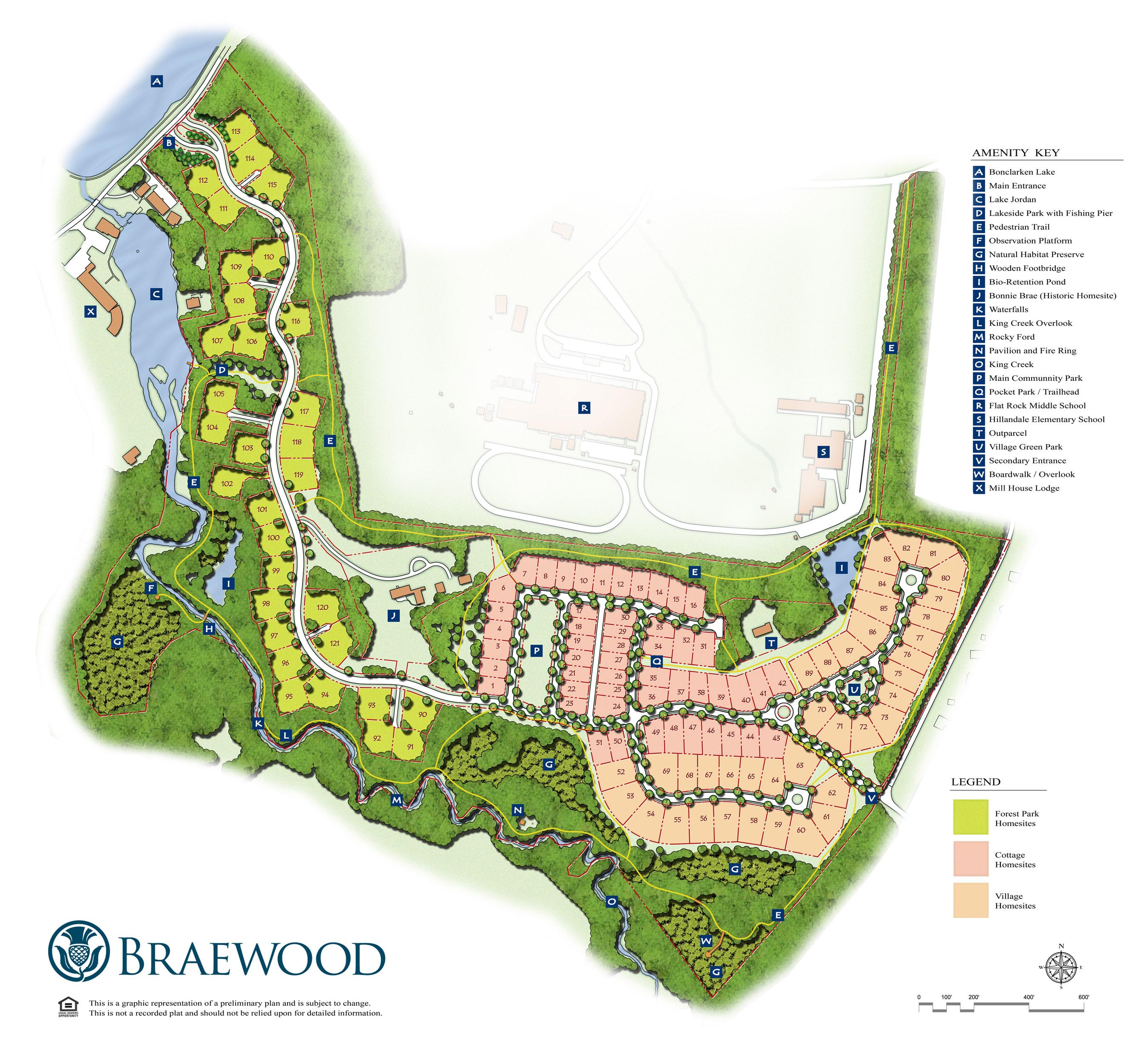 Braewood Master Plan