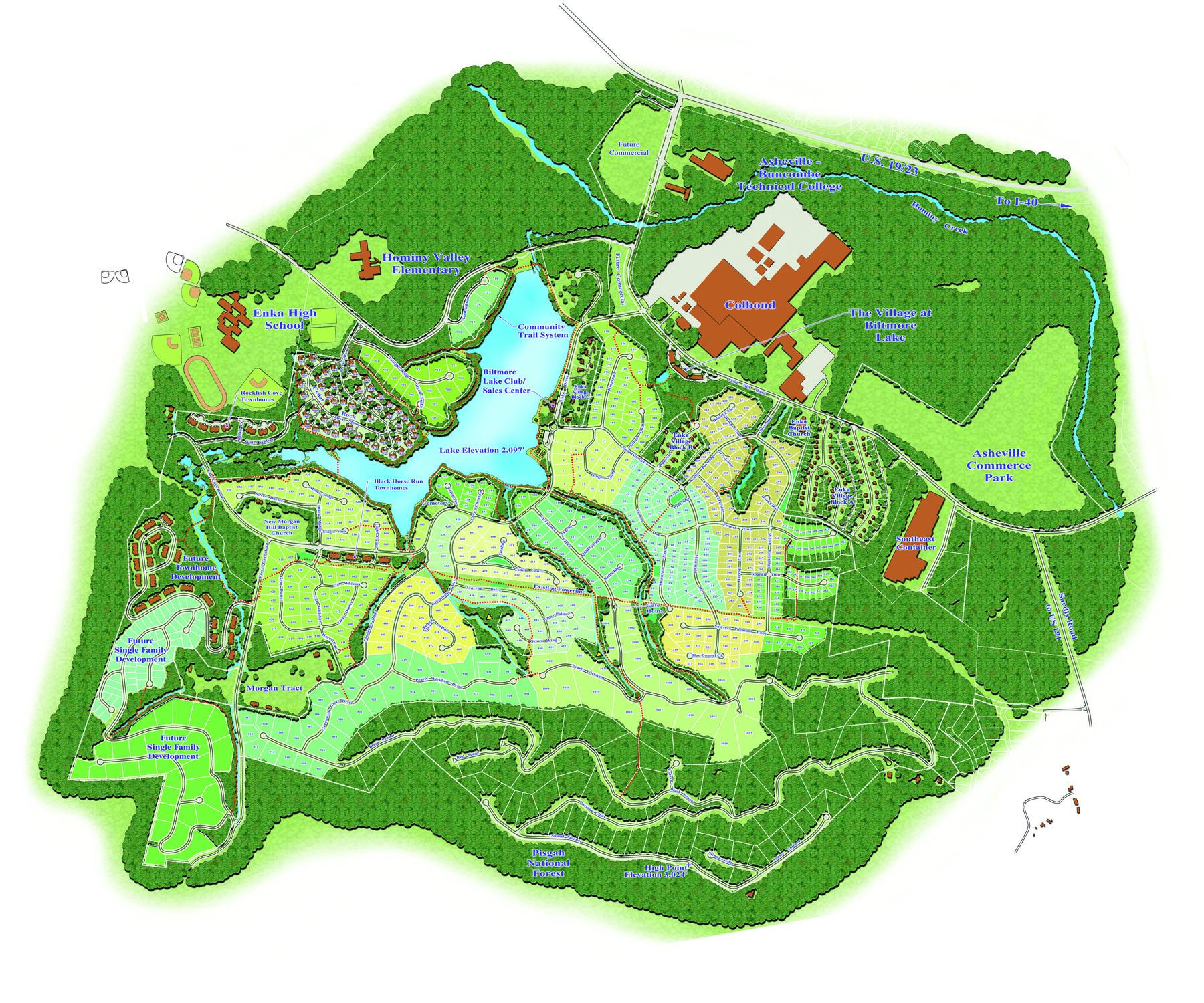 Biltmore Lake Master Plan