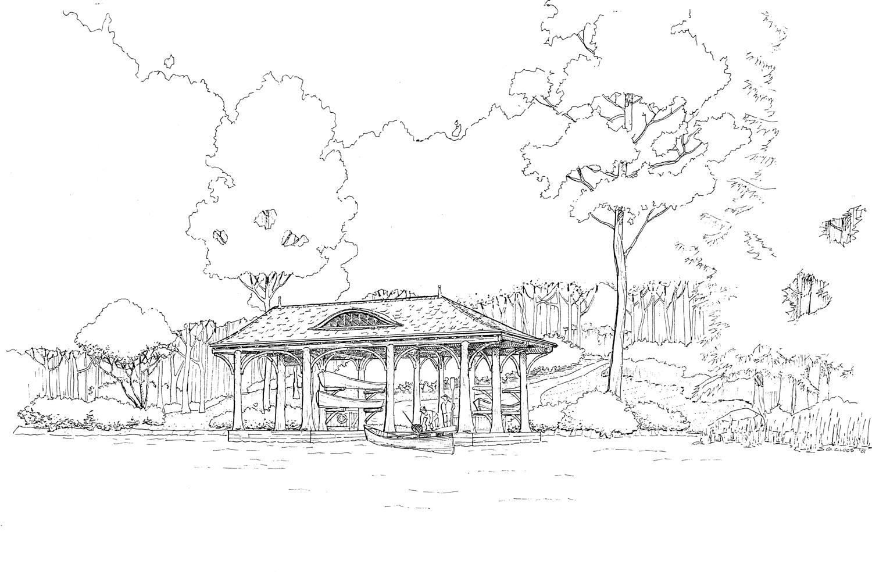 Boathouse Sketch