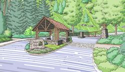 Sketch of Community Gatehouse