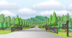 Highland Meadows Entry Perspective