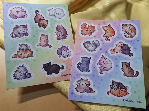 Vinyl Cat Stickers