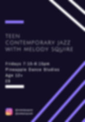 teen contemporary jazzwith melody squire