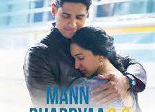 Mann Bharryaa 2.0 Piano Instrumental - B Praak - Shershaah