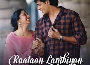 Raataan Lambiyan Karaoke Instrumental - Tanishk Bagchi, Jubin Nautiyal & Asees K