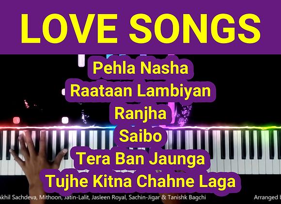 Love Songs Mashup Piano Instrumental