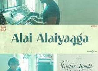Alai Alaiyaaga Piano Instrumental - Karthik - Navarasa