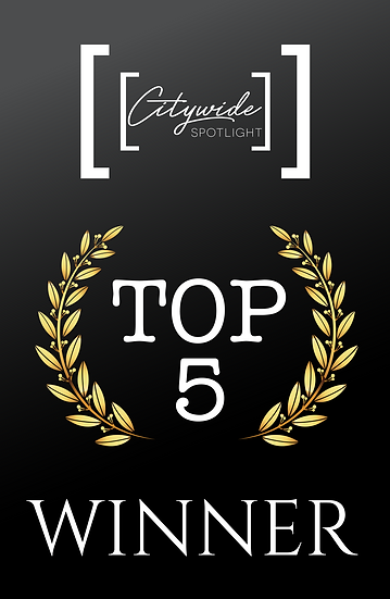 TOP 5 WINNER Digital Badge