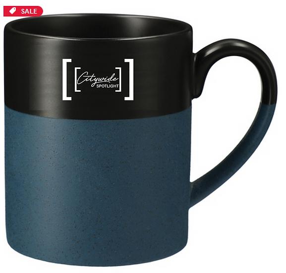 Two-Tone Ceramic Coffee Mug - 15 oz.
