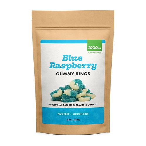 CBD GUMMIES - BLUE RASPBERRY
