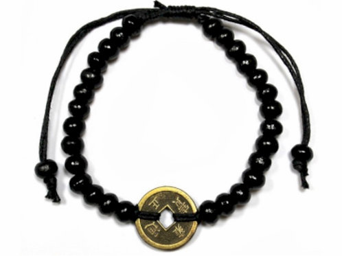 Good Luck Feng- Shui Bracelet- Black