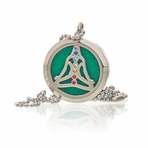 Aromatherapy Necklace- Yoga Chakra- 30mm