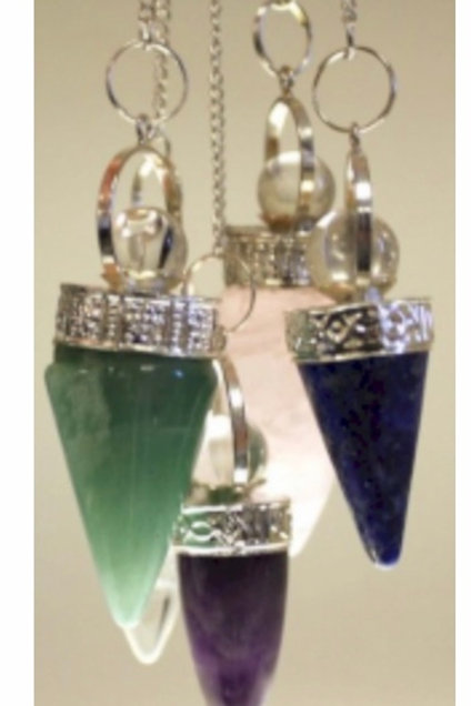 Cone & silver Ring- Asst