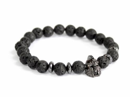 Knights Helmet/Lava Stone gemstone