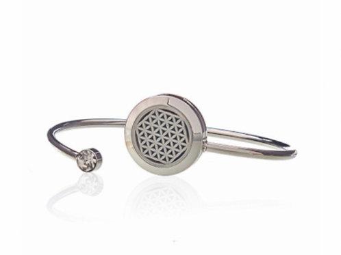 Aromatherapy Crystal Bracelet- Flower of Life