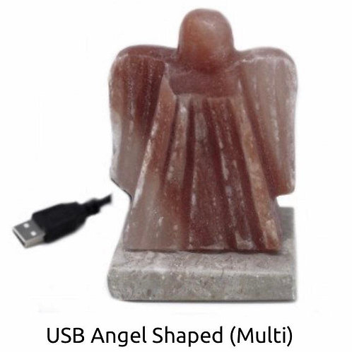 USB angel shaped crafted lamp