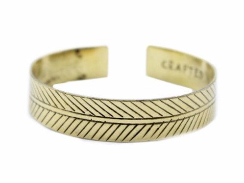 Brass Tibetan Bracelet