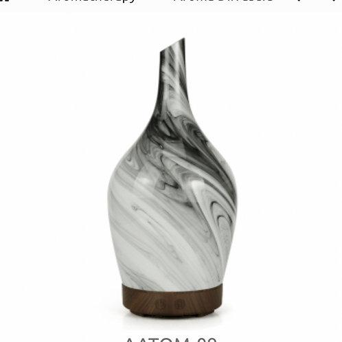 Aroma Atomiser- Glass Abstract Grey UK plug