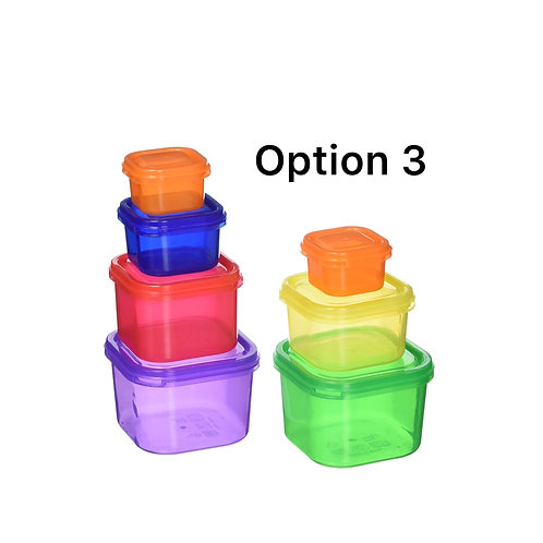 3.Nutrition Pot Plan with 350 Container Recipes and Nutrition Coach