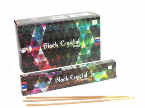 Satya Black Crystal Incense