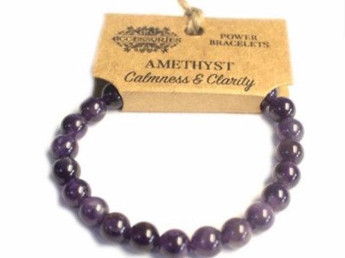 Power Bracelet- Amethyst