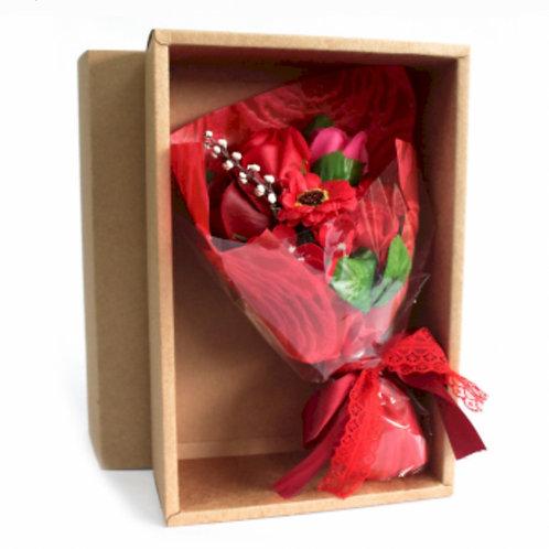 Boxed Hand Soap Flower Bouquet