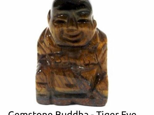 Gemstone Buddha Tiger Eye